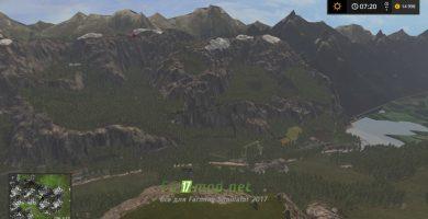 Пейзаж с горы