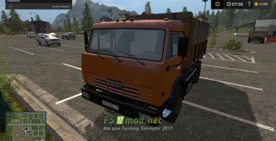 Мод КАМАЗ-43255S