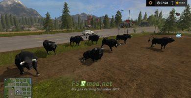 BLACK BULL для игры Фермер Симулятор 2017