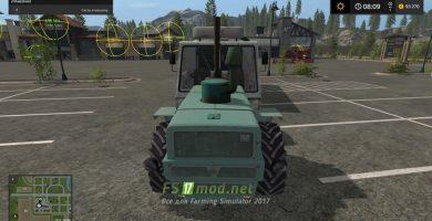 Трактор Т-150 для Farming Simulator 2017