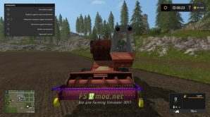 Мод СК-5 (Ветерок) для игры Симулятор Фермера 2017