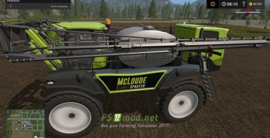 Мод на SLURRY SPRAYER