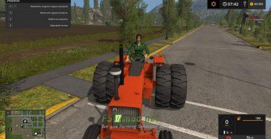 Трактор ALLIS CHALMERS 200 для игры Симулятор Фермера 2017