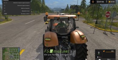 Мод КАМАЗ Т-215 для Farming Simulator 2017