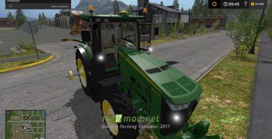 Трактор John Deere 8R USA для игры Фермер Симулятор 2017