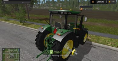 Трактор John Deere 8R USA