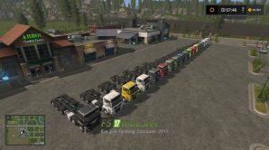 MAN CHASSIS PACK для Farming Simulator 2017