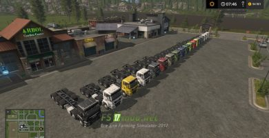 MAN CHASSIS PACK для Farming Simulator 2017