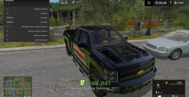 Авто CHEVY 2500 SILVERADO GG EDITION для FS 2017