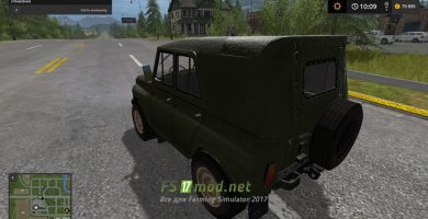 Автомобиль УАЗ 469 для FS 2017