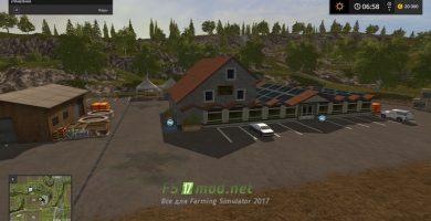 Карта HAGENSTEDT для игры Farming Simulator 2017