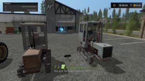 Пак тракторов Т-70 для Farming Simulator 2017