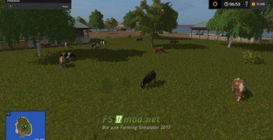 Остров с коровами