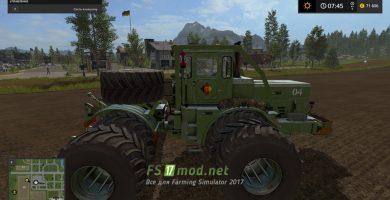 Мод на K701 NVA для Farming Simulator 2017