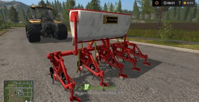 Окучник-пропольник SARCHIATRICE CM для Farming Simulator 2017