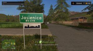Мод на карту JASIENICA MEXYK REAL для игры Cимулятор Фермера 2017