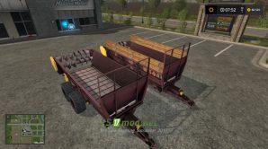 MTT-9 и ПРТ-7A для игры Фермер Симулятор 2017