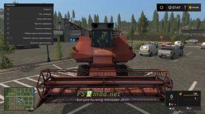 Комбайн СК-6 «Колос» для игры Farming Simulator 2017