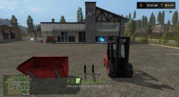 Мод на LINDE H40D FORKLIFTER для Farming Simulator 2017