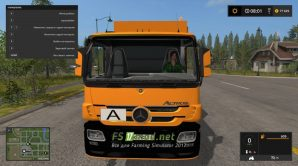 Мод GARBAGE TRUCK MERCEDES ACTROS
