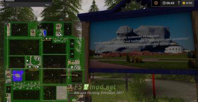 Мод на карту «СПК Светлый путь»  для игры Симулятор Фермера 2017
