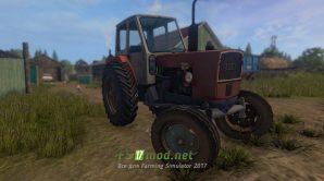 Трактор ЮМЗ 6Л для игры Farming Simulator 2017
