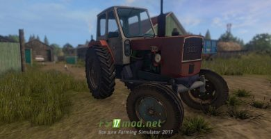 Трактор ЮМЗ 6Л для игры Farming Simulator 2017