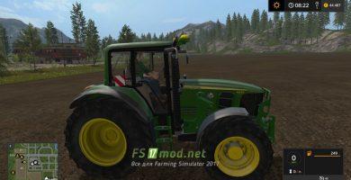 Трактор JOHN DEERE 6030 PREMIUM