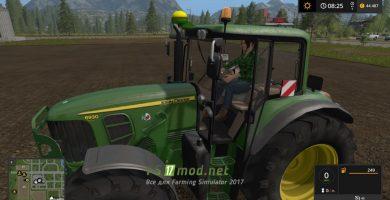 Трактор JOHN DEERE 6030 PREMIUM для игры Фермер Симулятор 2017