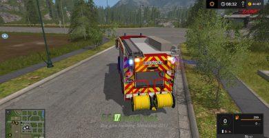 Мод на пожарную машину