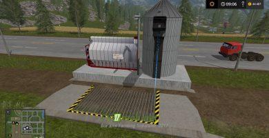 Мод на огромный бункер для игры Симулятор Фермера 2017