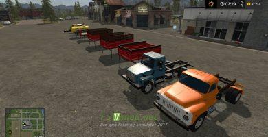 Мод на ГАЗ 33086 «ЗЕМЛЯК» Пак для игры Farming Simulator 2017