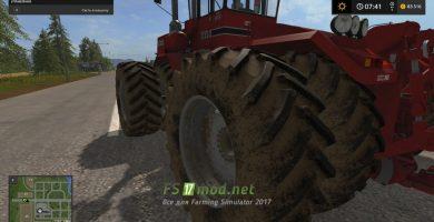 Мод «Реальная грязь» для Farming Simulator 2017