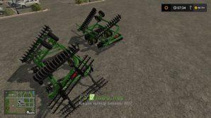 Плуг JOHN DEERE 220 DISK (PLOW) для игры Симулятор Фермера 2017