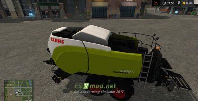 Мод на CLAAS QUADRANT 530F0C