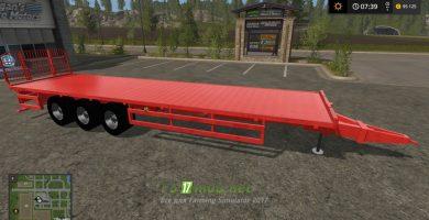 Мод на прицеп с автоподбором NH AUTO LOADER RED