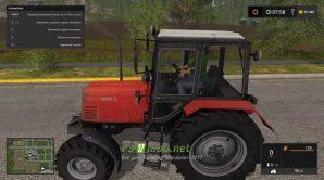 Мод Беларус 892 для Симулятора Фермера 2017