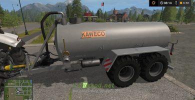 Цистерна с навозом KAWECO TANDEM