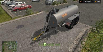 Цистерна с навозом KAWECO TANDEM для игры Симулятор Фермера 2017