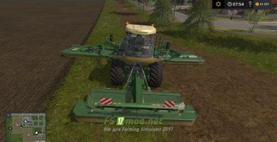 Косилка BIG M500 для игры Фермер Симулятор 2017