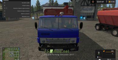 КамАЗ 43253 СЗАП для игры Фермер Симулятор 2017
