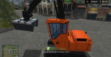 Погрузчик WOOD SHOVEL LOADER для игры Фермер Симулятор 2017