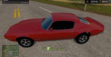 Автомобиль PONTIAC FIREBIRD