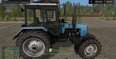 Мод MTZ 1221 SAREX для Farming Simulator 2017