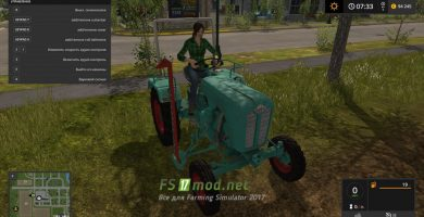 Мод на трактор KRAMER KLS 140