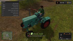 Мод на трактор KRAMER KLS 140 для игры Симулятор Фермера 2017