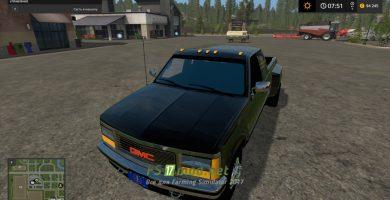 Легковой автомобиль 1992 GMC SIERRA ONE TON TRUCK для FS 2017