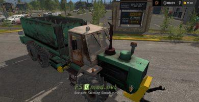 Мод на трактор Т150 грузовой