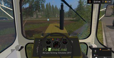 FORTSCHRITT ZT303 SIENA FINAL  вид с кабины