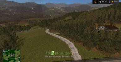 Дорога от фермы